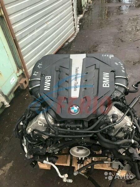 Двигатель (мотор, ДВС) Н63 на БМВ 5 Ф10, 6 Ф13, 7 Ф01 рестайлиг. 2013 - 2015 гг.