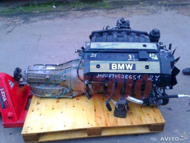 Двигатель ( мотор, ДВС ) на BMW 3, 5, 7 М52 ( M 52 ). E39 E38 E46 2.8 бензин.