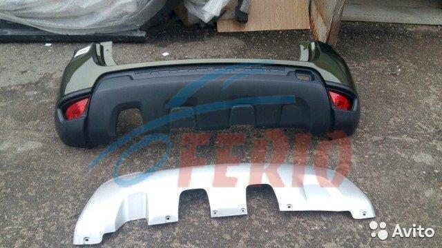 Рено Дастер II 2015 бампер задний оригинал