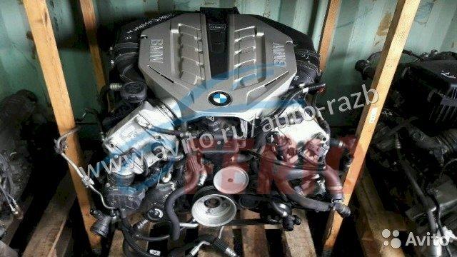 Двигатель (Мотор, ДВС) Н63 на БМВ 550i F10 650i F13 750i F01 X5 E70 X6 E71 550i GT F07.