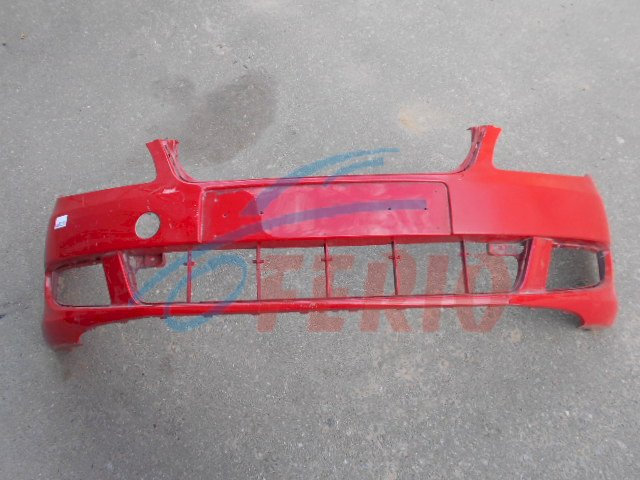 Бампер передний 5J0807221D для шкода фабия 2 и румстер 2 рестайлинг